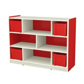 Rouge Kids Storage Cabinet for Books and Toys
